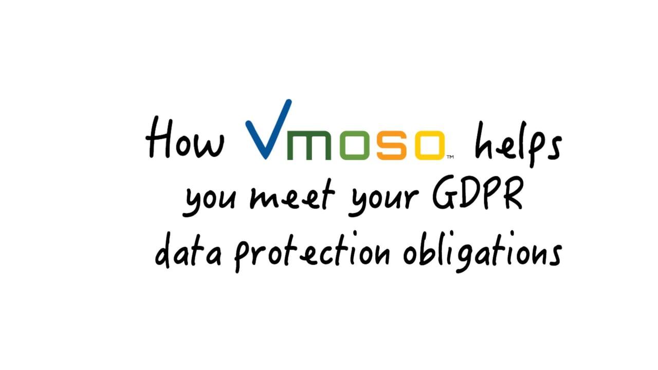Vmoso and GDPR